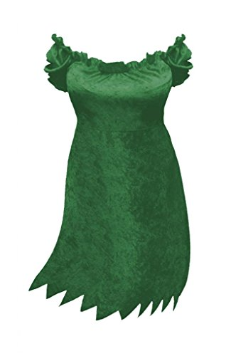 Sanctuarie Designs Womens Sexy Green Witch Dress Plus