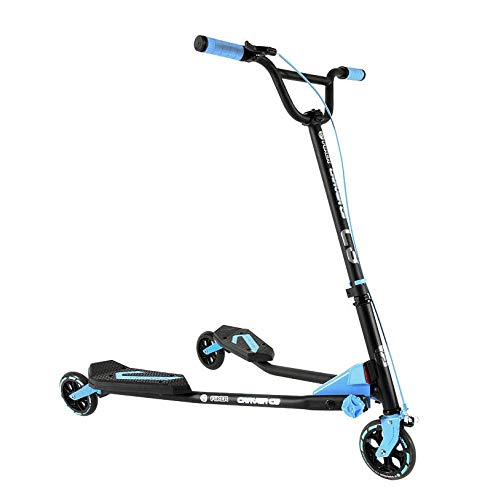 Yvolution Y Fliker C3 Scooter, Blue, One Size