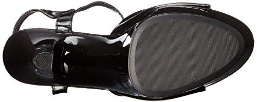 Black Sandal 601 Juliet da donna Ellie Platform Scarpe twqYx0