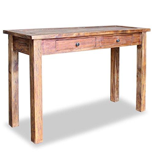 Konsolentisch Holz Massiv 120 x 45 Wandtisch Konsole Computertisch Schreibtisch