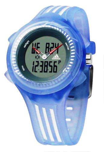 adidas ADP1228 - Reloj digital de cuarzo para mujer con correa de piel, color azul: Amazon.es: Relojes