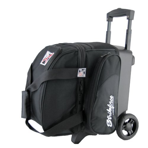 KR Strikeforce Cruiser Single Roller Bowling Bag (Black)