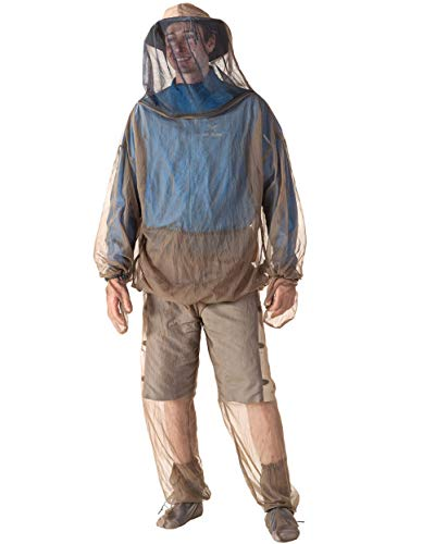 Sea to Summit Bug Jacket & Mitts, Jacket & Mitts with Insect Shield, Small