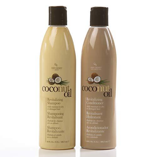 Oil Revitalizing Hair (Hair Chemist Coconut Oil Revitalizing Shampoo 10 oz. &- Conditioner 10 oz. (Combo Deal))