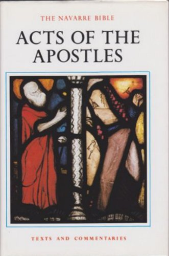 Navarre Bible: Acts of the Apostles