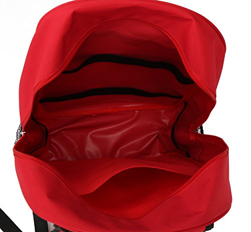 E FAK Red Backpack for First Aid Kits Pack Emergency Treatment or Hiking, Backpacking, Camping, Travel, Car & Cycling. Perfect for all Outdoor Adventures or be Prepared at Home & Work