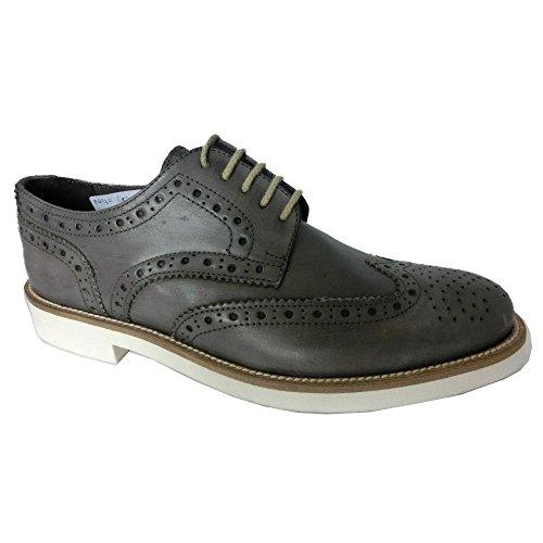 Zapatos De Hombre Drudd Made in Italy gris