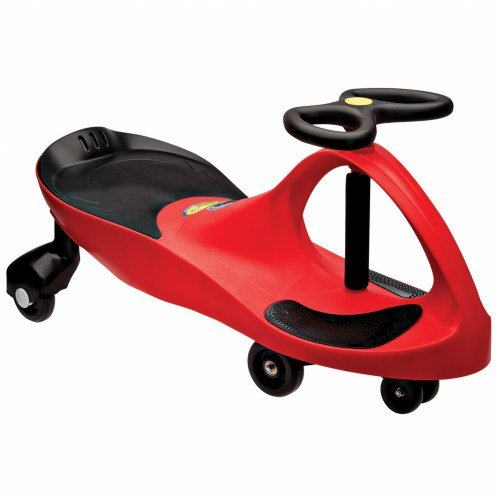 - The Original PlasmaCar by PlaSmart - Red - Ride On Toy, Ages 3 yrs and Up, No batteries, gears, or pedals, Twist, Turn, Wiggle for endless fun