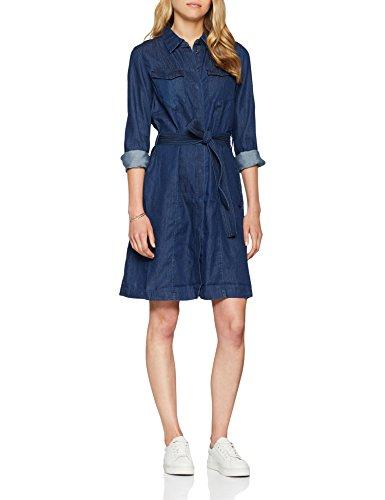 G STAR Femme Dress Robe Tacoma RAW S Rinsed L Bleu rOxwdFrHq