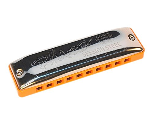 SEYDEL Blues SESSION STEEL Harmonica A
