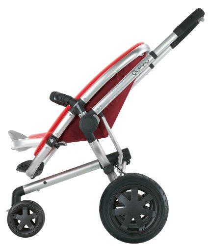 Quinny 60305830 buzz 3 silla de paseo con cesta capota protector para la lluvia y adaptador - Silla de paseo 3 ruedas ...