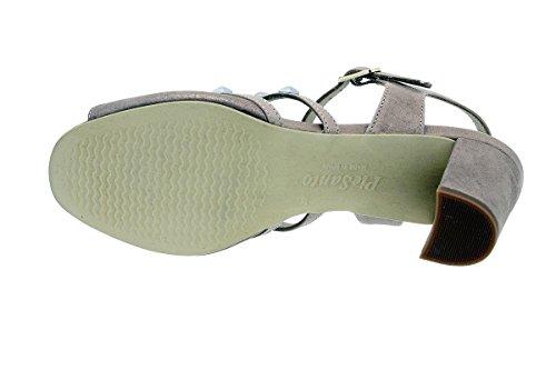 Donna Comfort Cosmo Sandali Nude Tacco Scarpe 180257 Piesanto wXZBqIn