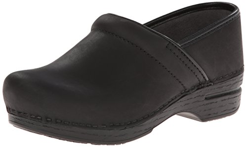 Dansko Women's Pro XP Mule,Black Oiled,38 EU/7.5-8 M US (Oiled Black Clog)