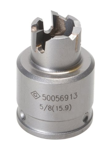 (Greenlee 645-5/8 Quick Change Stainless Steel Hole Cutter, 5/8-Inch)