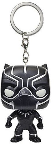 Civil Keychain War - Funko POP Keychain: Captain America 3: Civil War Action Figure, Black Panther