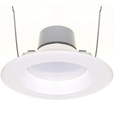 "18W (120W Equivalent) 5/6"" LED Recessed Downlight Retrofit Can Light ENERGY STAR 4000K (Cool White) 1170 Lumen CRI90"