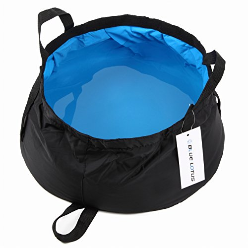 BLUELOTUS Ultralight Portable Foldable Bucket 12L by BLUELOTUS