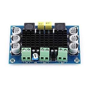 DC 12V-26V 100W Placa de Amplificador de Potencia Receptor de Audio Digital de Un