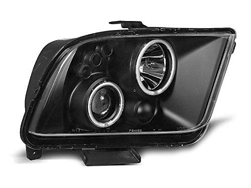 Shop Import Paire de Feux phares O31 Mustang 04-09 Angel Eyes Noir