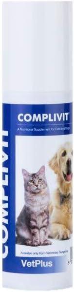 VetPlus Complivit Complemento Alimenticio para Gatos y Perros - 150 gr