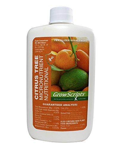 GrowScripts: Liquid Citrus Tree Micronutrients - 8oz Concentrate