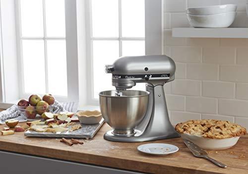 KitchenAid KSM75SL Classic Plus 4.5-Qt. Tilt-Head Stand Mixer, Silver 5