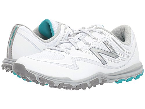 New Balance Women's Minimus Sport Golf Shoe, White, 10.5 B B US