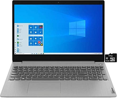 """2021 Newest Lenovo IdeaPad 3 15.6"""" HD Touch Screen Laptop, Intel Quad-Core i5-1035G1 Up to 3.6GHz (Beats i7-8550U), 12GB DDR4 RAM, 256GB PCIe SSD, Webcam, WiFi 5, HDMI, Windows 10 S + TiTac Card WeeklyReviewer"""