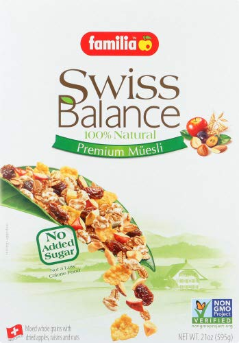 Familia Swiss Balance Muesli Cereal, No Added Sugar, 21-Ounce Box (Pack of 6) by Familia (Image #6)