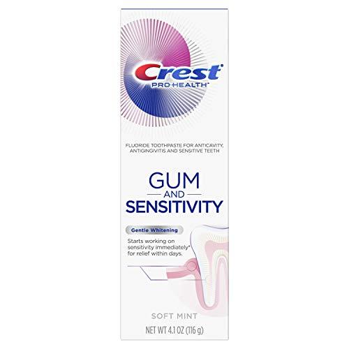 Crest Pro-Health Gum and Sensitivity, Sensitive Toothpaste, Gentle Whitening, 4.1 oz
