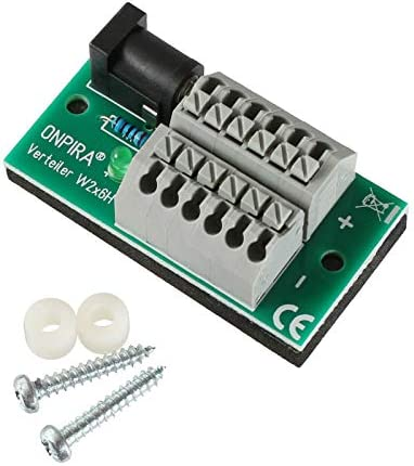 Onpira Stromverteiler Verteiler Mit 5 5x2 1mm Hohlstecker Anschluß In 2 Größen Auswählbar W2x6h Spielzeug