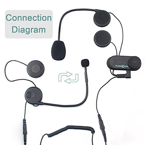 Helmet Munication Systemsfreedconn T02s Motorcycle Bluetooth Rhdesertcartae: Helmet Audio Intercom Pillion At Elf-jo.com