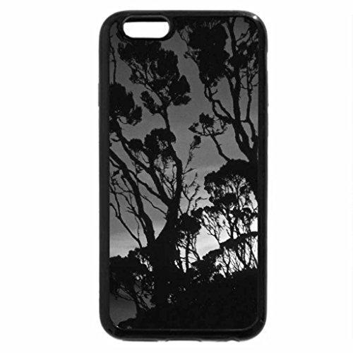iPhone 6S Plus Case, iPhone 6 Plus Case (Black & White) - Sun Rises