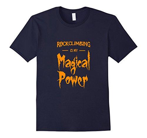 Mens Rock Climbing Is My Magical Power T-Shirt as Halloween Gift Medium (Climber Halloween Costume)