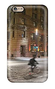 New Premium CharlesRaymondBaylor Sur La Rue Mcgill Dans Le Vieux Montreal Skin Case Cover Excellent Fitted For Iphone 6