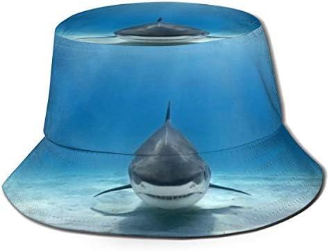 Junkai Tiger Shark バケットハット 男女兼用帽子 UV 翼幅広 紫外線対策 日よけ 小顔効果