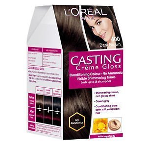 (C Casting Creme Gloss Hair Color Dark Brown 400 @ FATEH)