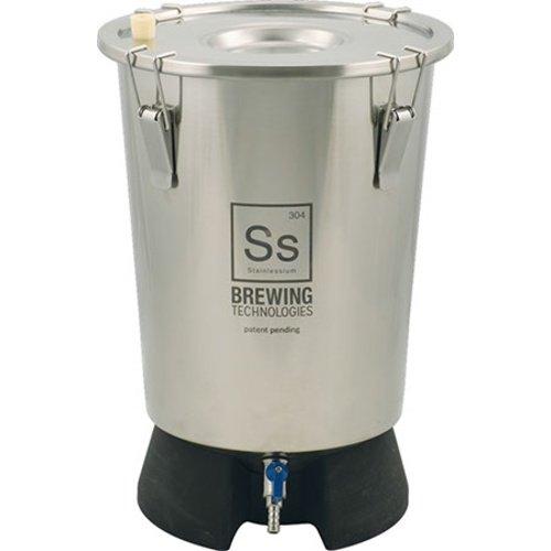 Ss Brewing Technologies FE803 3.5 gal Brew Bucket Mini Fermenter, Silver JGB Enterprises