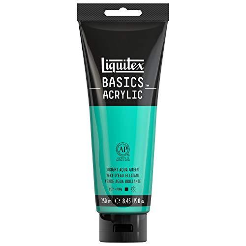 Liquitex BASICS Acrylic Paint, 8.45-oz tube, Bright Aqua -