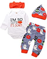 Zefeng Toddler Infant Baby Boy Deer Long Sleeve...