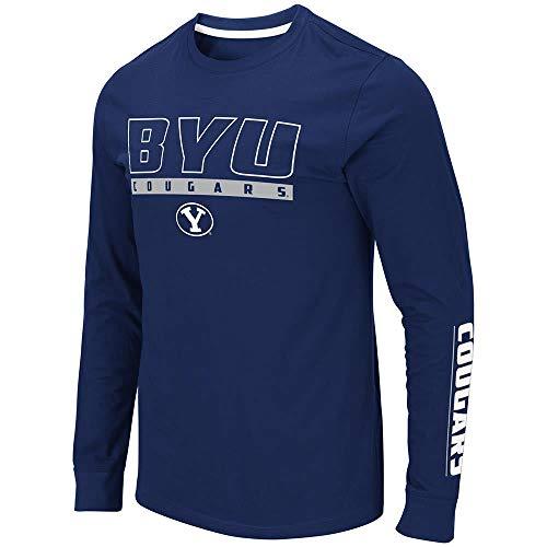 Mens BYU Brigham Young Cougars Guam Long Sleeve Tee Shirt - 2XL ()