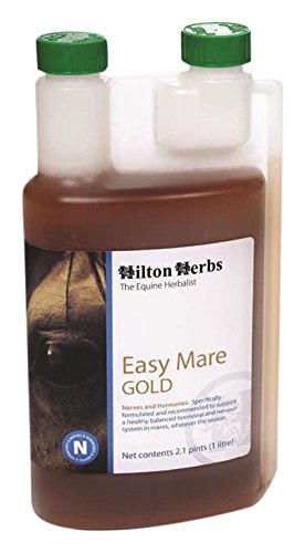 Image of Hilton Herbs 039033 Easy Mare Gold Herbal Supplement For Horses, 2.1 pint