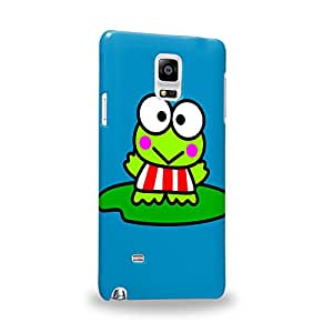 Case88 Premium Designs Kero Kero Keroppi Collection 1339 Carcasa/Funda dura para el Samsung Galaxy Note 4