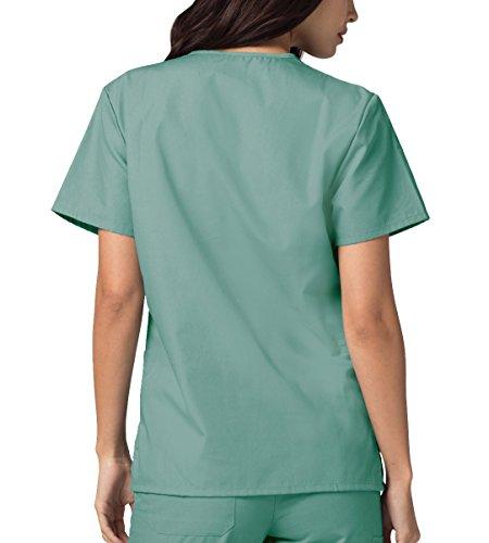 Ospedale Parte Uniformi Unisex Camice Infermiera Blu Mediche Da Adar seaspray Superiore Lavoro Ix7fASnfw0