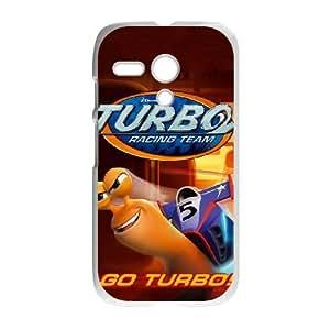 Motorola G Cell Phone Case White turbo Movie Dreamworks RWY