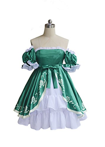 Cosnew Halloween Anime Party Liechtenstein Dress Outfit (Liechtenstein Cosplay Costume)