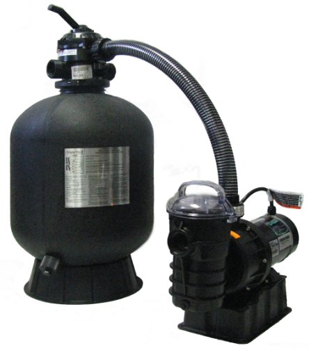 Pentair Sta-Rite SRCF2022DO1260 Cristal-Flo II Aboveground Sand Filter System with 1-1/2 HP Dynamo Pump by Pentair