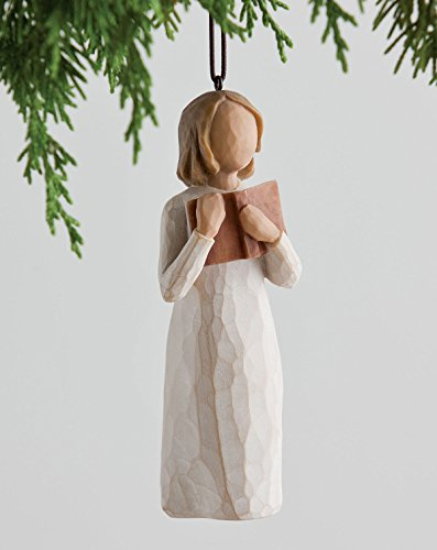 Willow Tree Hanging Ornament with S-hook (Love of Learning, (Love Hanging)