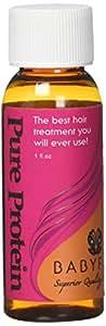 Grow Long Hair! BABYFACE PURE PROTEIN TREATMENT - Serious Hair Damage Repair, Strengthener & Filler