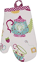 Handstand Kitchen Child\'s \'Spring Tea Party\' Oven Mitt
